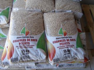 Vente de granulés de bois en sac à Oraison et alentours